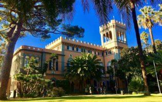 Villa Figoli Des Geneys di Arenzano l'Accademia di Alta Formazione per l'Hotellerie di bordo