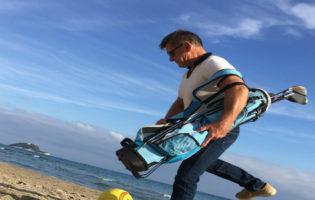 Alassio, Befana in spiaggia con i campioni dello sport