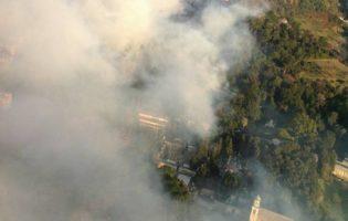"""Liguria, Coldiretti: """"Gli incendi mettono in pericolo le aziende agricole"""""""