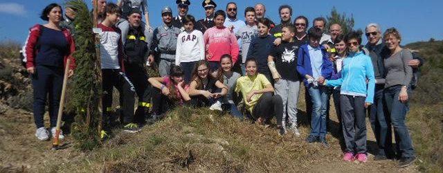 I bambini di Laigueglia hanno celebrato la Giornata dell'Albero