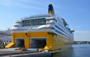 Da Tolone a Palma a bordo dei traghetti della Corsica Ferries