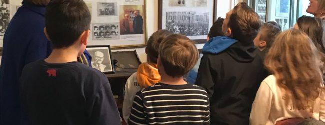a Laigueglia a Stella per una visita alla casa museo del Presidente Sandro Pertini