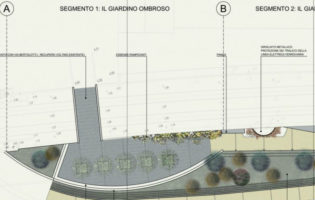 Giardino lineare a ponente: sottoscritto il contratto d'appalto tra Sviluppo Genova e l'ATI Consorzio Stabile A.L.P.I. e Euroambiente
