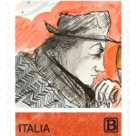 Un francobollo delle Poste per ricordare il maestro Federico Fellini